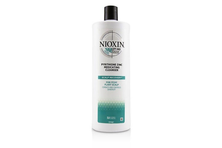 Nioxin Scalp Recovery Pyrithione Zinc Medicating Cleanser (For Itchy Flaky Scalp) 1000ml