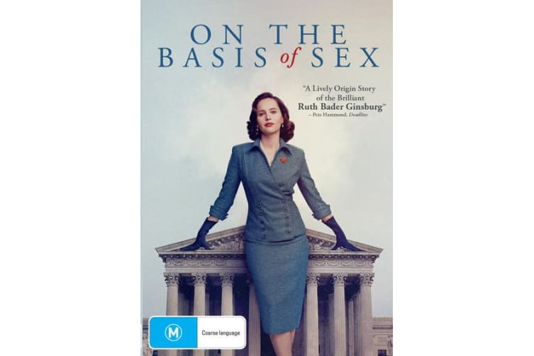 On the Basis of Sex DVD Region 4