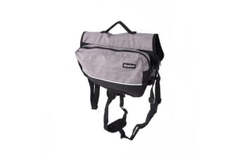 Zippy Paws Graphite Backpack (Grey)