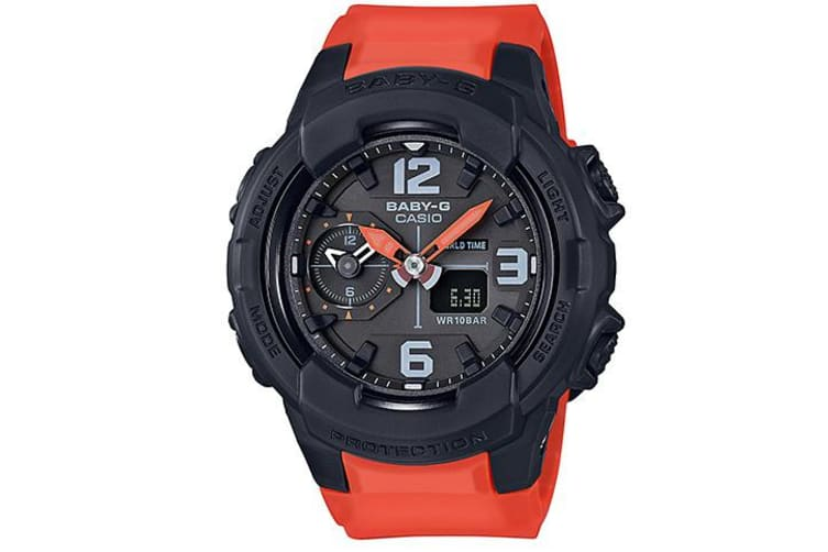 Casio Baby-G Unisex Black/Orange Analogue/Digital Watch BGA-230-4B BGA-230-4BDR