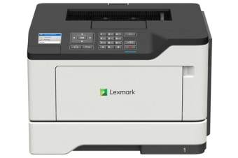 Lexmark Network-ready; Duplex; 44 (A4)ppm; 1GHz Dual-core; 512MB RAM, 1200x1200