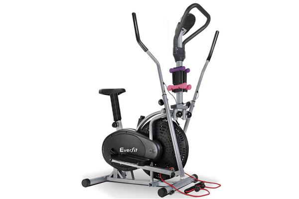 Everfit 6in1 Elliptical Cross Trainer Exercise Bike Bicycle Home Gym Fitness