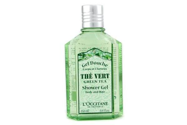 L'Occitane Green Tea Shower Gel (For Body & Hair) (250ml/8.4oz)