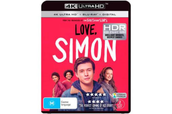 Love, Simon (4K UHD/Blu-ray/Digital Copy)