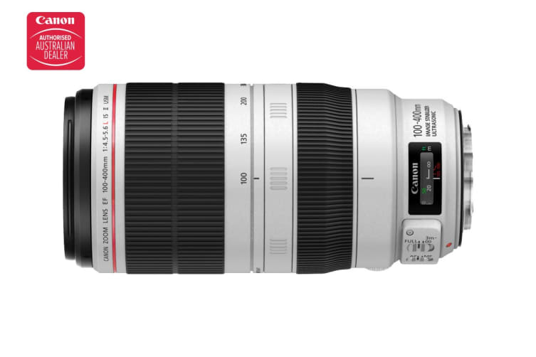 Canon EF 100-400 f/4.5-5.6L IS II USM Lens with 77mm Diameter to suit lens hood ET-83D (EF100-400LISII)