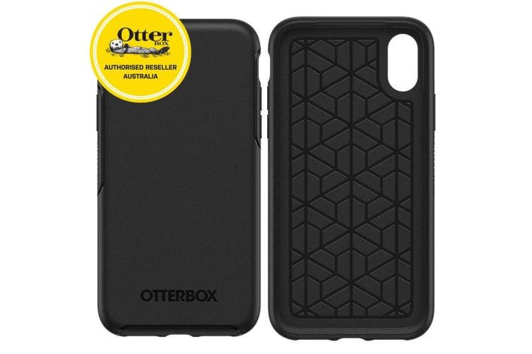 online store 5d045 d4e68 Otterbox Symmetry Case for iPhone X/Xs - Black