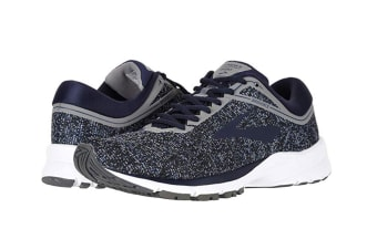 Brooks Women's Launch 5 (Black/Ebony/Primer Grey, Size 7)