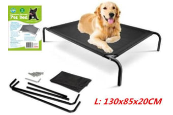 Large Pet Dog Elevated Bed Trampoline Heavy Duty Hammock Canvas Cat Puppy Cover