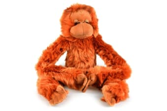Korimco 68cm Kids/Children Hanging Orangutan Large Monkey Plush Soft Stuffed Toy