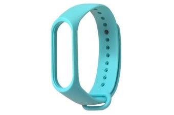 Watch Band Sport Wristband Fashion Simple Style Wrist Strap Replacement for Xiaomi Mi Band 3 Smart Bracelet Blue