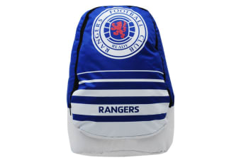 Rangers FC Official Swoop Backpack (Blue/White/Red)