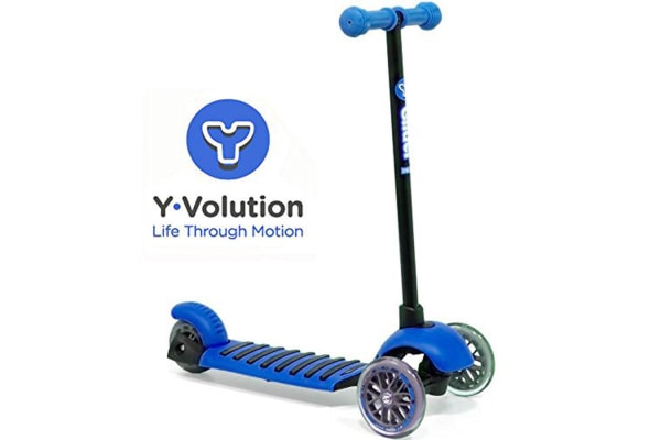 Y Glider Deluxe Scooter in Blue