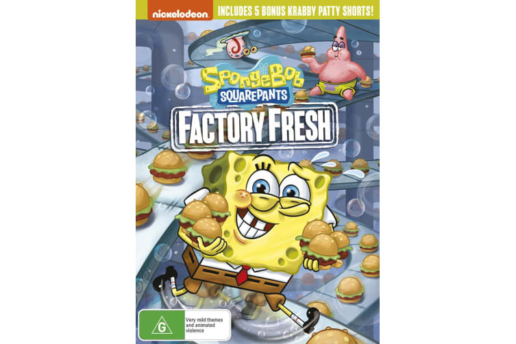 SpongeBob Squarepants Factory Fresh DVD Region 4