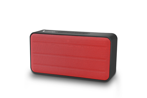 Bluetooth V2.1 Portable Wireless Stereo Speaker Rechargeable Usb Tf Fm Red
