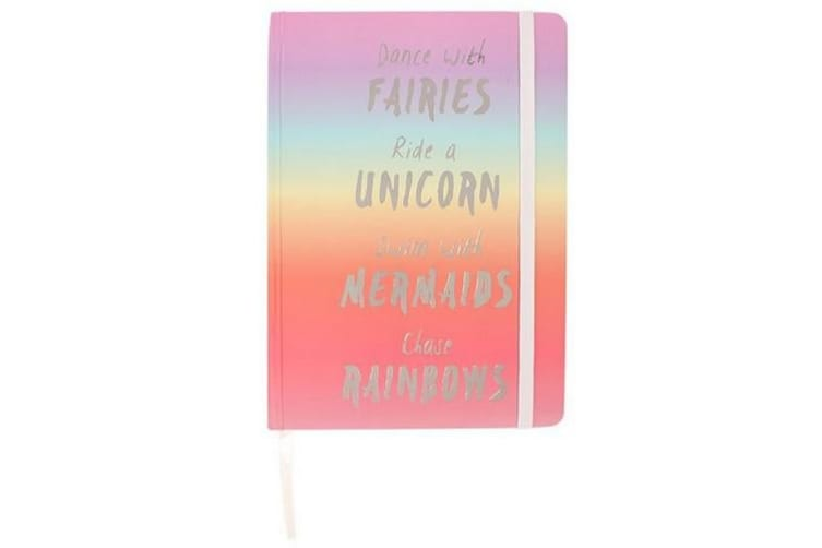 Something Different Rainbow Notebook (Multicoloured) (A6)
