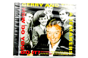 GERRY AND THE PACEMAKERS HOW DO YOU DO IT? BRAND NEW SEALED MUSIC ALBUM CD