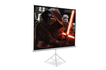 "100"" Full HD Tripod Projector Screen Portable Conference Presentation Projection"