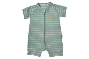 Bonds Baby Wondersuits (Green Stripe)