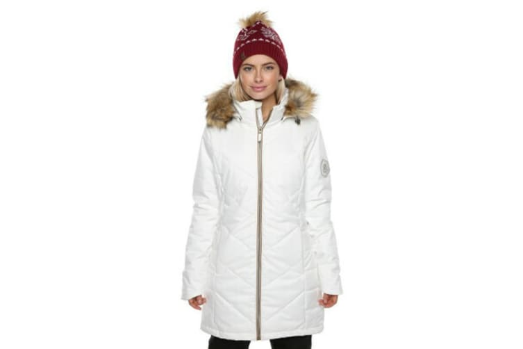 XTM Adult Female Snow Jackets Courcheval Ladies Jacket White - 12