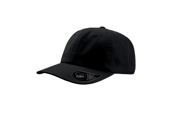 Atlantis Dad Hat Unstructured 6 Panel Cap (Black)