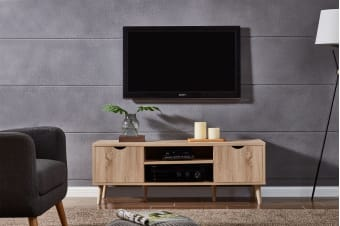 Shangri-La TV Entertainment Unit - Nyhavn Collection (140cm, Oak)