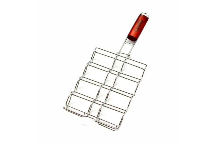 Corn Cob Grill Basket Rack Top Grade BBQ Barbecue Grilling Camping Corn Holder