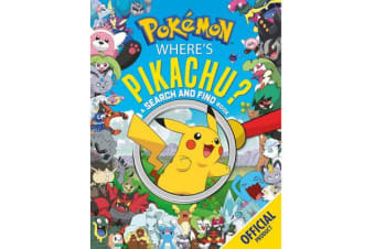 Where's Pikachu? A Search and Find Book - Official Pokemon