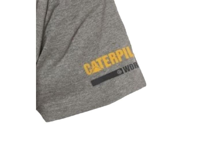 Caterpillar Essentials T-Shirt (Dark Grey) (L)