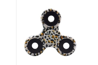 3D Alloy Fidget Hand Finger Spinner EDC Focus Stress Reliever Toys Kids Adults - Camouflage Dot