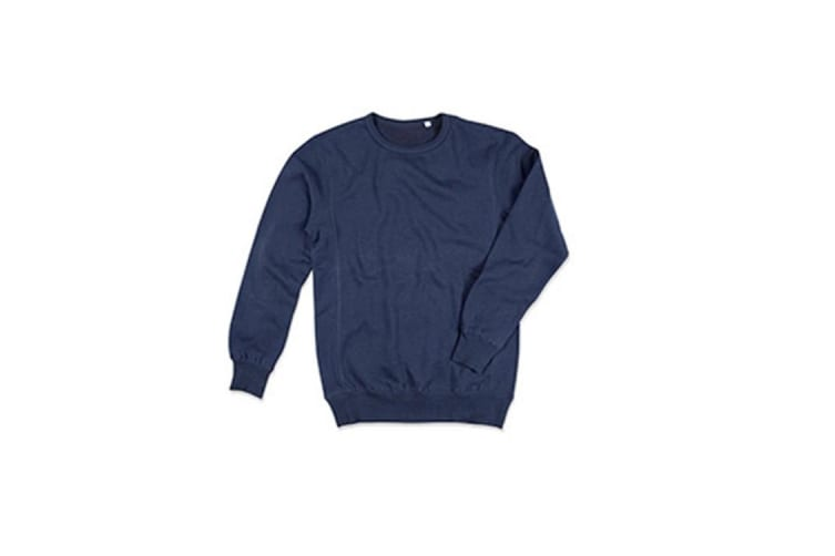 Stedman Mens Active Sweatshirt (Blue Midnight) (XL)