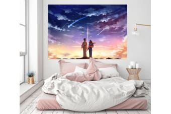 3D Your Name 293 Anime Wall Stickers Self-adhesive Vinyl, 180cm x 100cm(70.8'' x 39.3'') (WxH)