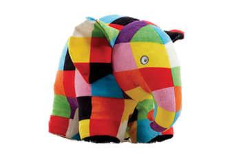 Elmer The Patchwork Elephant Plush