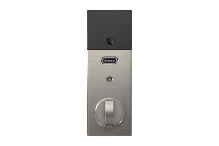 Schlage Sense Touchscreen Smartlock with Century Trim (Satin Nickel)