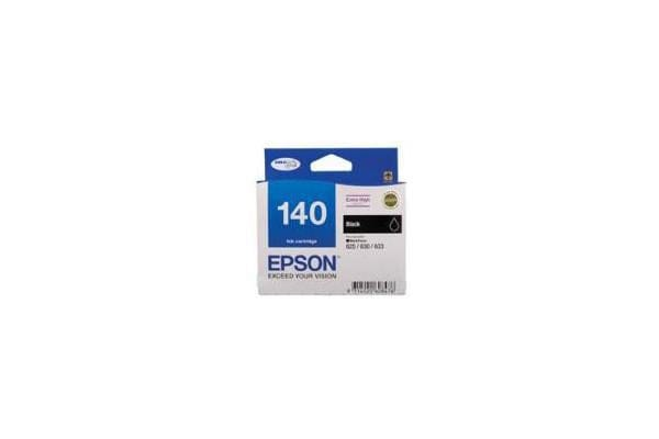 EPSON 140 Extra High Capacity Black Ink Cartridge For Workforce 60 625 630 633 840