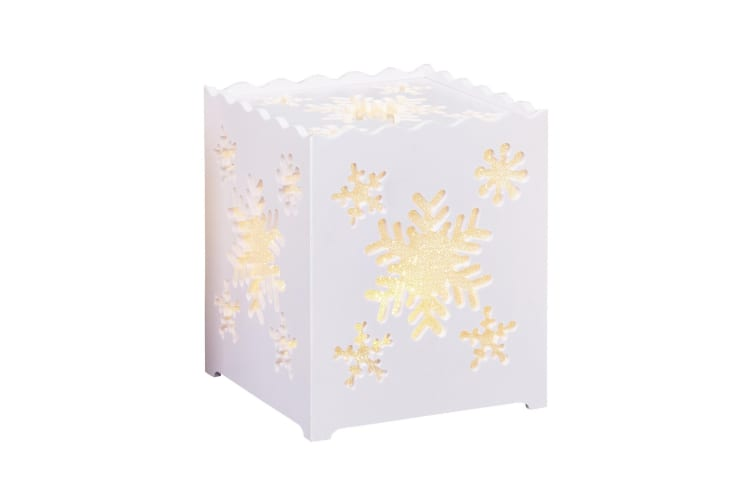 Christmas Shop Battery Table Light (Snowflake) (One size)