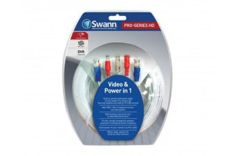 Swann HD Video & Power 100ft / 30m BNC Fire Resistant Cable (SWPRO-30MTVI)