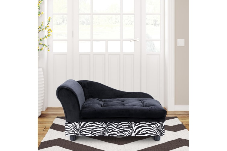 Large Pet Bed Dog Cat Bed Sofa Couch Cushion Puppy Lounge w/Storage Space