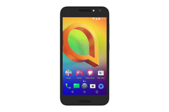[Good Condition - Pre Owned] Alcatel A3 (4G/LTE, 16GB/2GB, Opt) - Prime Black