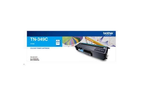 Brother TN349C 6000 pages Cyan Toner