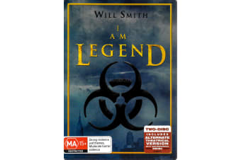 I Am Legend - Region 4 Rare- Aus Stock DVD PREOWNED: DISC LIKE NEW