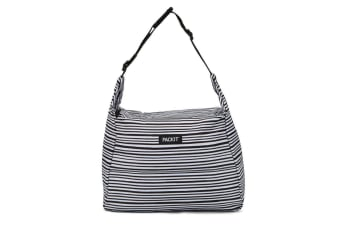 Packit Freezable Hobo Lunch Bag Wobbly Stripe