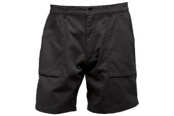 Regatta Mens New Action Sports Shorts (Black) (38)