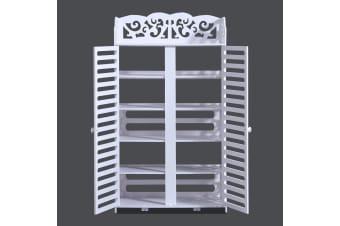 4/5/6 Tiers Hollow Shoe Cabinet Storage Rack Organiser Shelf Units 4 Style