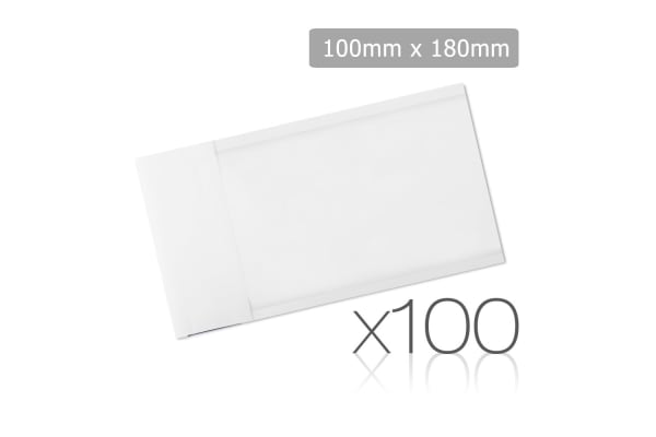 Set of 100 Bubble Padded Mailer Bag 100mm x 180mm
