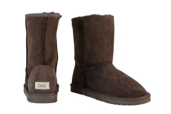 OZWEAR Connection Classic 3/4 Ugg Boots (Chocolate)