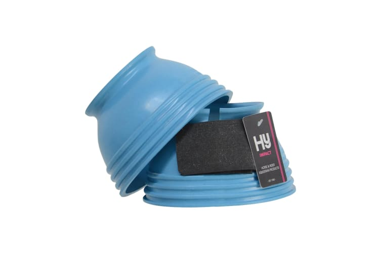 HyIMPACT Ringed Over Reach Boots (Brilliant Blue) (M)
