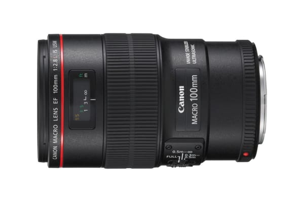 Canon EF 100mm f/2.8 Macro IS USM Lens with 67mm Diameter to suit Lens Hood ET-73 (EF10028LIS)