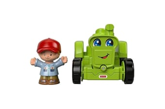 Little People Small Vehicle Helpful Harvester Tractor