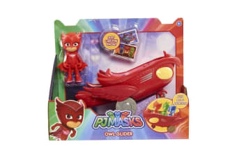 PJ Masks Vehicle - Owlette and Owl Glider
