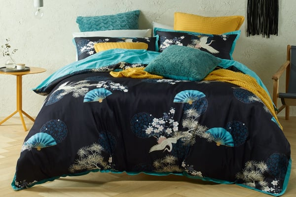 Bianca Soraya Quilt Cover Set (King)